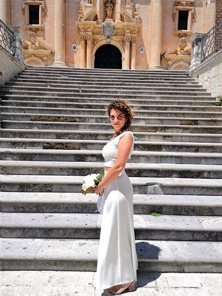 vestito da sposa sartoriale bologna chiara cascioli